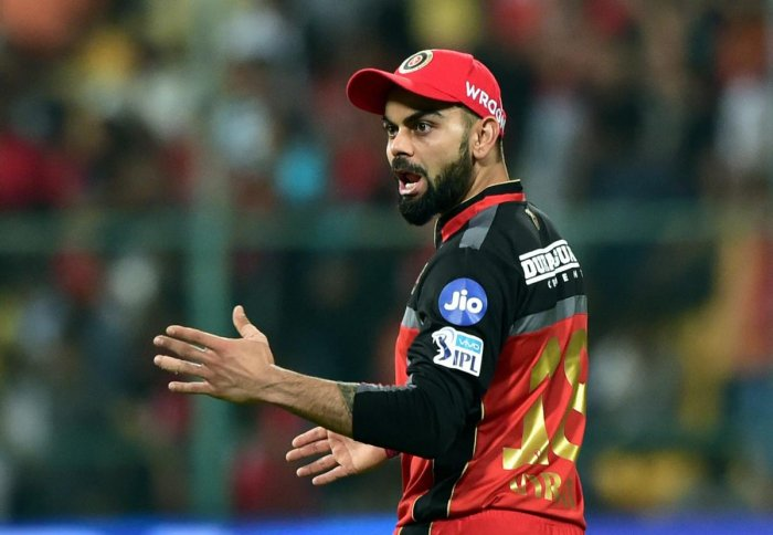 RCB slumped to their fifth defeat in seven games after failing to defend 176 against KKR last night. PTI photo