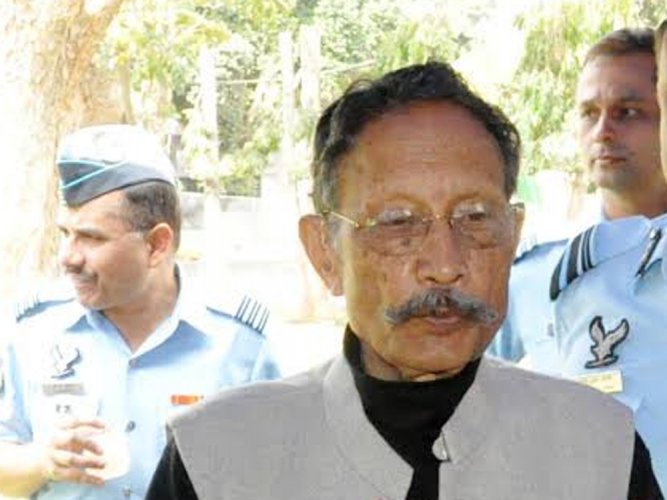 Former Uttarakhand chief minister BC Khanduri. (Image courtesy AIR/Twitter)