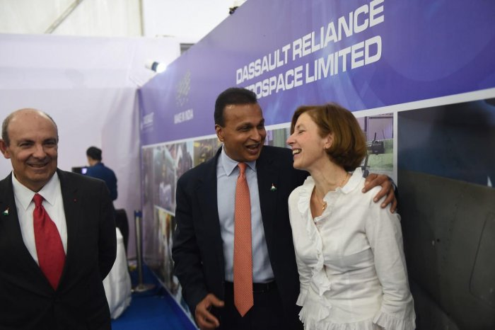 In a statement, Dassault Aviation said it has decided to make a partnership with the Reliance Defence in accordance with the policy of 'Make in India'. AFP Photo