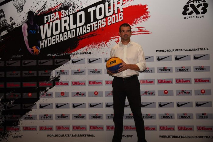 SHORT AND SWEET Alex Sanchez feels the low cost of playing 3x3 basketball could help countries like India.