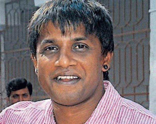 Kannada cine actor Duniya Vijay. DH photo.