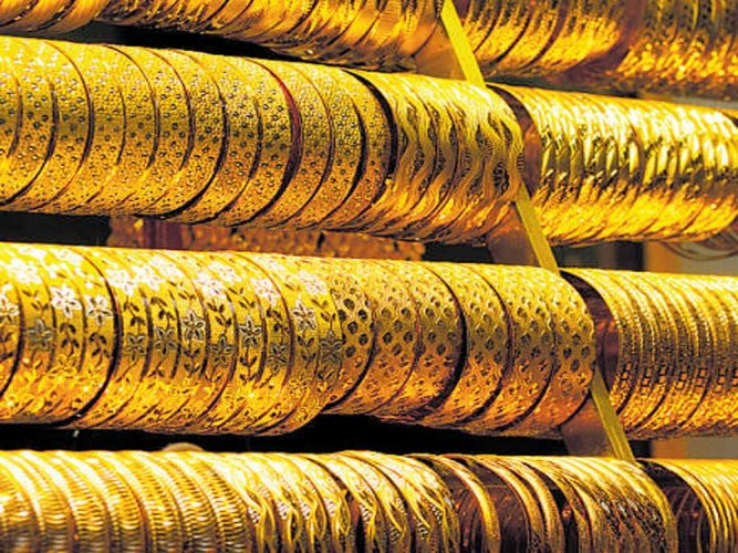 A search by airport authorities led to the recovery of two gold rods crudely given theshape of bangles. Representative image.
