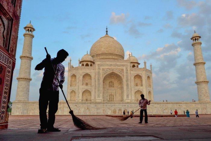 The Supreme Court on Tuesday extended till November 15 the time for Uttar Pradesh government to come out with a vision document on protecting the Taj Mahal, and asked it to consider declaring a portion of the area surrounding the monument as 'heritage'.
