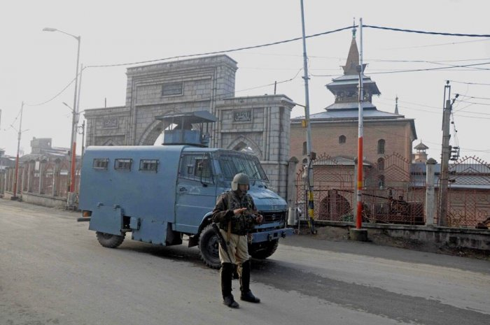 Subramanyam asserted that trend of resignations among SPOs in Police department was restricted to some areas of south Kashmir. Image courtesy Twitter