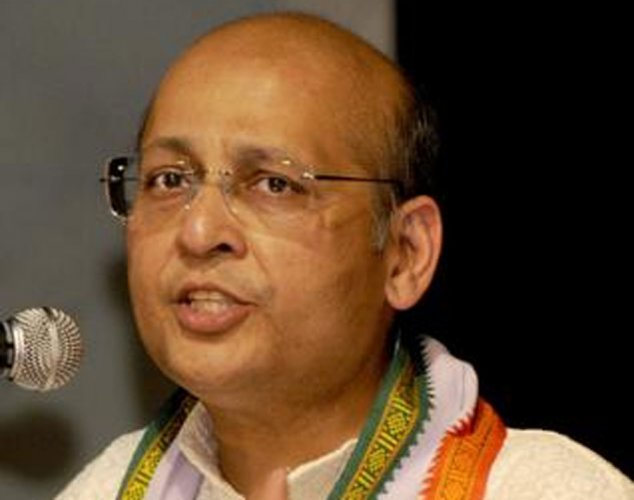 """The delinking of Aadhaar from private entities is a 'slap on the face of BJP"""", said Congress national spokesperson Abhishek Manu Singhvi."""