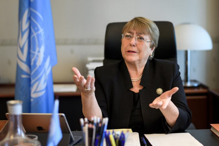 UN High Commissioner for Human Rights Michelle Bachelet. (Reuters file photo)