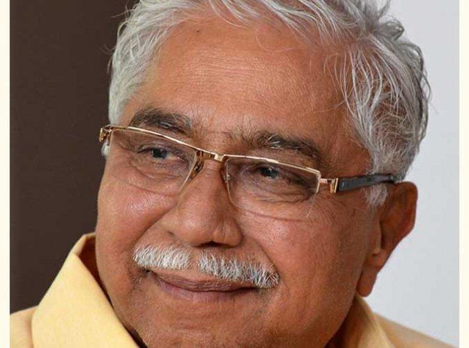 Jnanapith awardee Dr Chandrashekara Kambara. (DH photo)