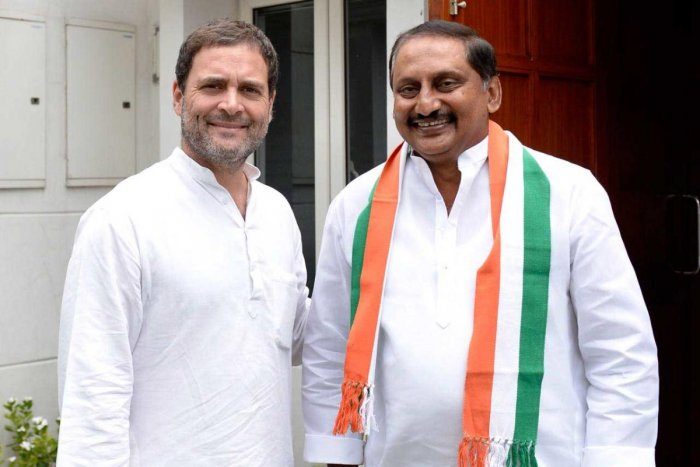 Congress' communications in-charge Randeep Surjewala announced Reddy's return to the party after the former chief minister met party president Rahul Gandhi at his residence on Friday.