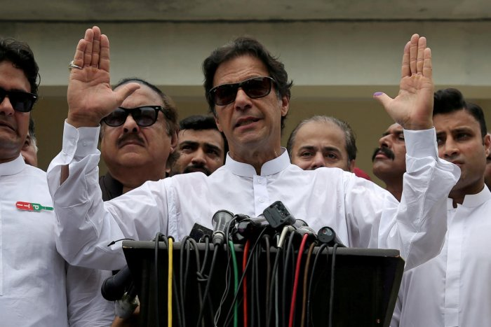 Imran Khan wants Pakistanis to crowdfund a whopping USD 14 billion for desperately needed dams, a plea capitalising on nationalist fervour but ridiculed by detractors as unrealistic. (Reuters file photo)