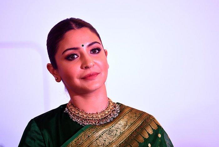 Bollywood actress Anushka Sharma (AFP File Photo/ Sujit Jaiswal)