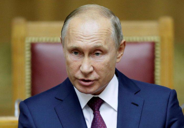 Russian President Vladimir Putin. (Reuters file photo)