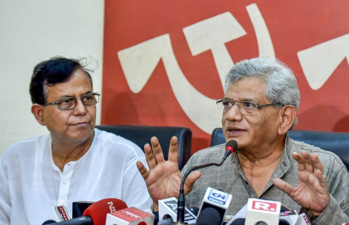 The CPM central committee will meet for three days from October 6 where the electoral tactics for the Lok Sabha and Assembly polls will be discussed. PTI file photo