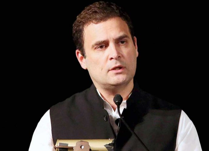 Rahul, however, did not specify if he was referring to the BJP-led government at the Centre or the BJP government in Madhya Pradesh. PTI File photo