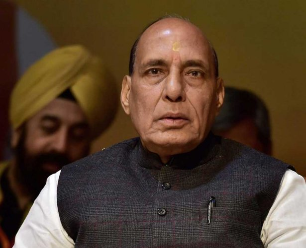 The 12-member NIC headed by Rajnath Singh will chalk out programmes and activities for the year-long celebrations. PTI file photo.