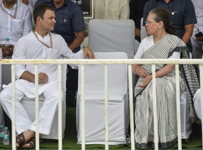 The Delhi High Court on Monday dismissed pleas by Congress leaders Sonia Gandhi and Rahul Gandhi challenging the reopening of their tax assessments for 2011-12. PTI