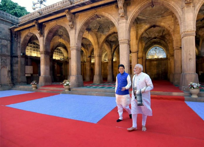 Prime Minister Narendra Modi and his Japanese counterpart Shinzo Abe in September 2017 formally launched works on Mumbai-Ahmedabad High-Speed Rail link, which is going to be the first of its kind in India and built with Shinkansen Bullet Train technology