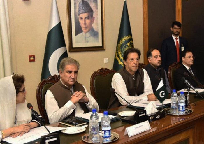"""Pakistan's Foreign Minister Shah Mehmood Qureshi has alleged that India's """"domestic political and electoral compulsions"""" were behind New Delhi's reluctance to talk to the new government in Islamabad. AP/PTI Photo"""