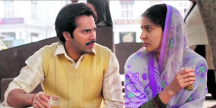 A scene from Sui Dhaaga.