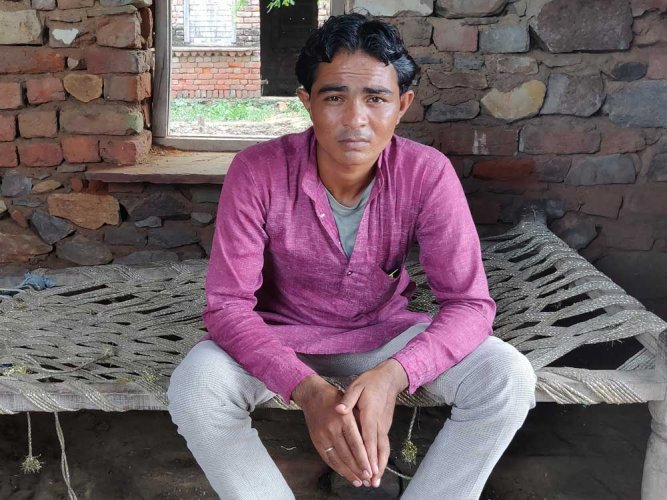 Pehlu's son Irshad. (DH photo)