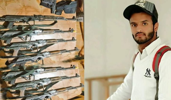 24-year-old SPO Adil Bashir, who hails from Zainpora area of south Kashmir's Shopian district, was charged with the crime of stone-throwing in 2014. His name was part of the FIR (27/2014) that was challenged to court. (Image courtesy Twitter)