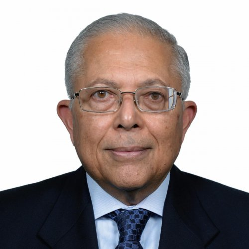 N Ravi, the publisher of The Hindu Group of Newspapers who was elected as the Chairman of Press Trust of India, the country's largest news agency in New Delhi on Saturday. (PTI photo)