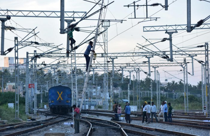 Of the total 1.2-lakh km of railway network, already 46% is electrified and work is on to electrify another 30%.