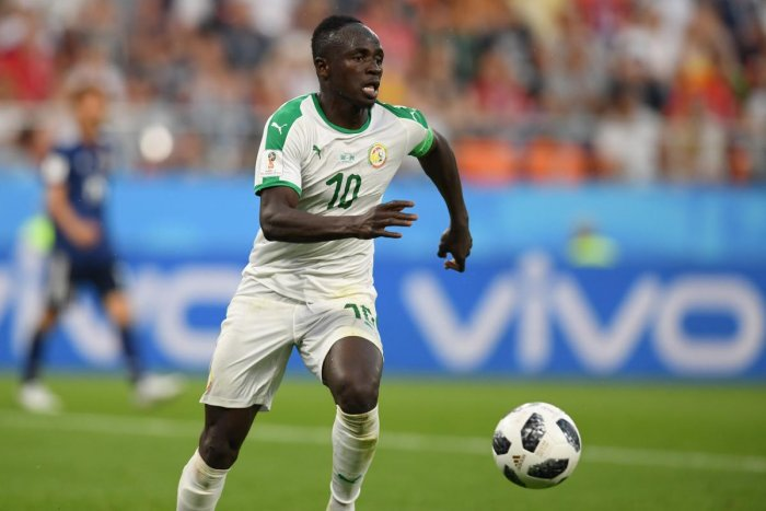 Senegal's forward Sadio Mane was disappointed that his team allowed Japan to earn a draw in their Group H tie on Sunday. AFP