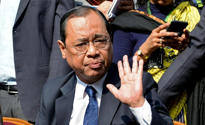 On September 3, the President appointed Justice Gogoi as the 46th Chief Justice of India. He will take oath on October 3 after Chief Justice Dipak Misra retires.(Reuters file photo)