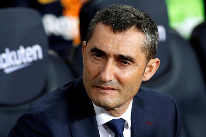 Ernesto Valverde. REUTERS