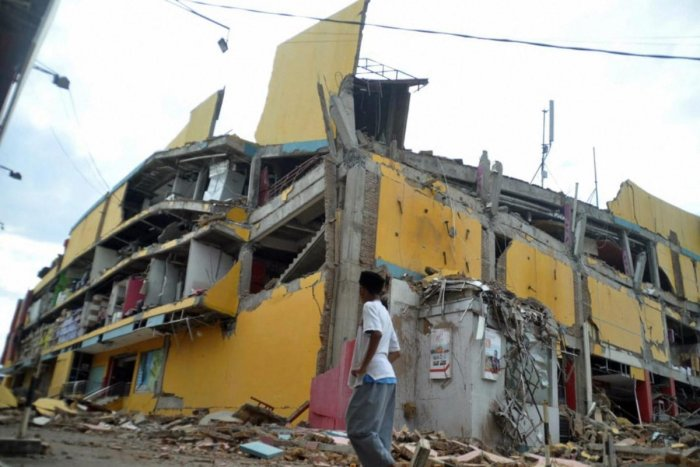 An earthquake of 7.5 magnitude shook the Palu city of Indonesian island Sulawesi on September 28. (AP/PTI File Photo)