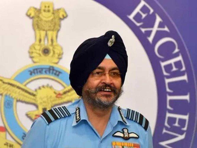 Indian Air Force chief Air Chief Marshal B S Dhanoa.