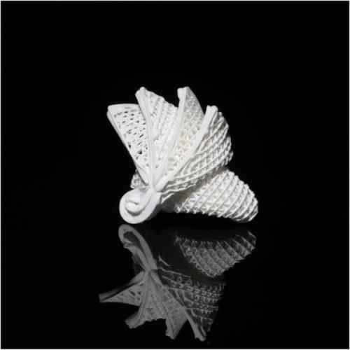 A 4D printed ceramic origami mimicking the Sydney Opera House. Photo: City University of Hong Kong