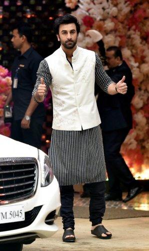 Bollywood actor Ranbir Kapoor. (PTI File Photo/Mitesh Bhuvad)