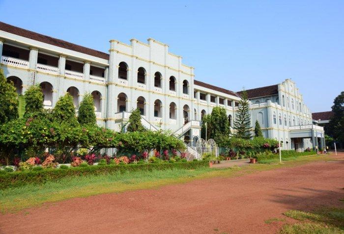 St Aloysius College in Mangaluru.