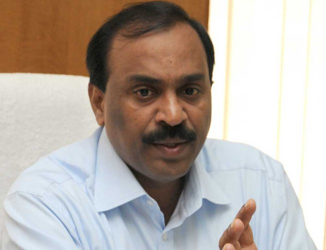 Former minister G Janardhana Reddy. (DH File Photo)