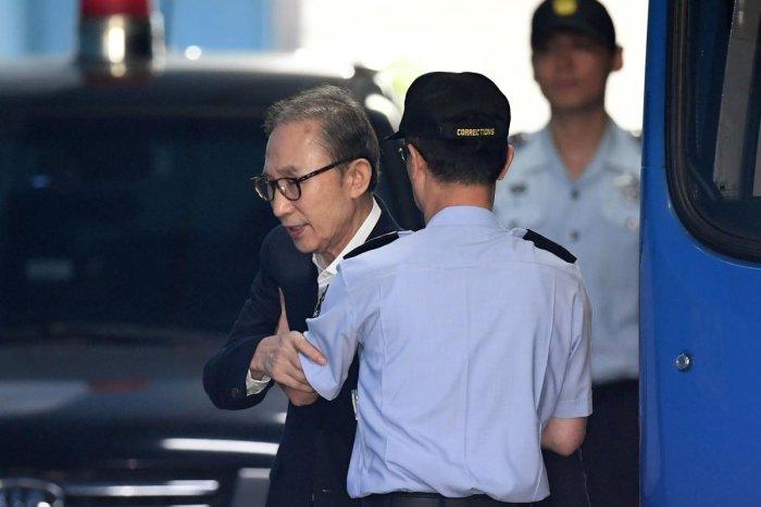 Former South Korean president Lee Myung-bak. (AFP File Photo)
