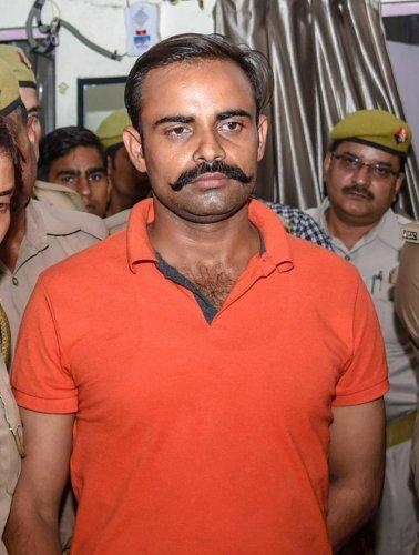 Accused constable Prashant Chaudhary