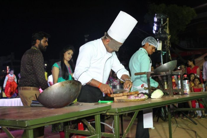 One has to stand out to survive this competitive world, says Chef Sandesh.