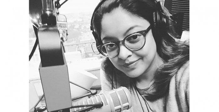 Actress Tanushree Dutta. Credit: Instagram/iamtanushreeduttaofficial
