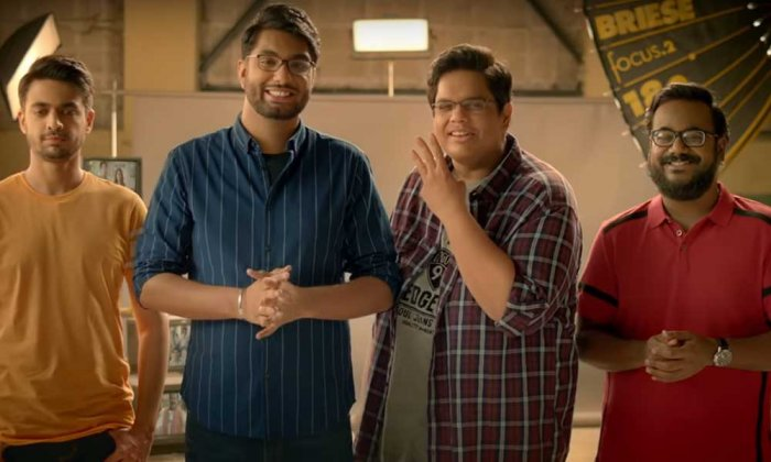 A screengrab from the promotional video of 'On Air with AIB'. (YouTube/AllIndiaBakchod)