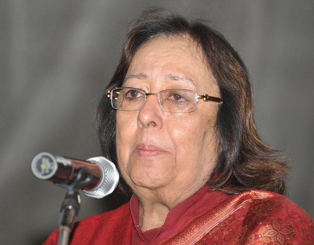 Acting vice-chancellor of the Manipur University K Yugindro Singh has apologised to Governor Najma Heptulla (in picture).