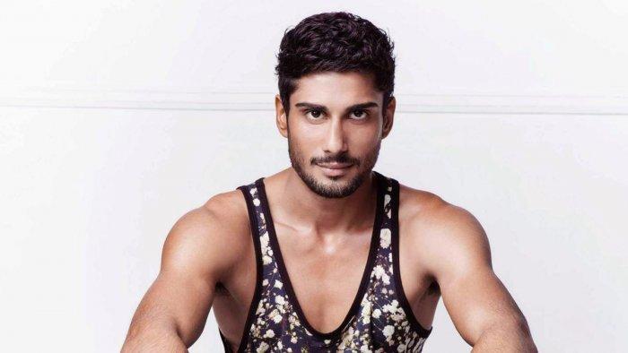 Bollywood actor Prateik Babbar.
