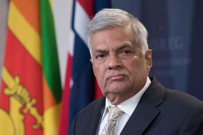 Sri Lanka's Prime Minister Ranil Wickremesinghe. (AFP File Photo)