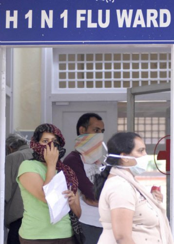 According to doctors, the infection can be transmitted if a person inhales the droplets of an infected patient. DH file photo
