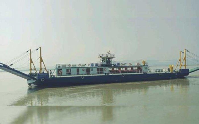 M V Bhupen Hazarika, the vessel inaugurated on Thursday. (Photo credit: IWAI)