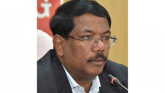 N Manjunath Prasad. Credit: DH Photo