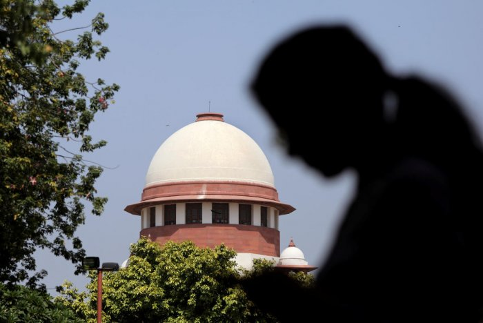 A bench of Justices A K Sikri and Ashok Bhushan saw no ground to issue any directions as the Election Commission had submitted that the allegations of duplicate voters were made to denigrate the constitutional body. (Reuters photo)