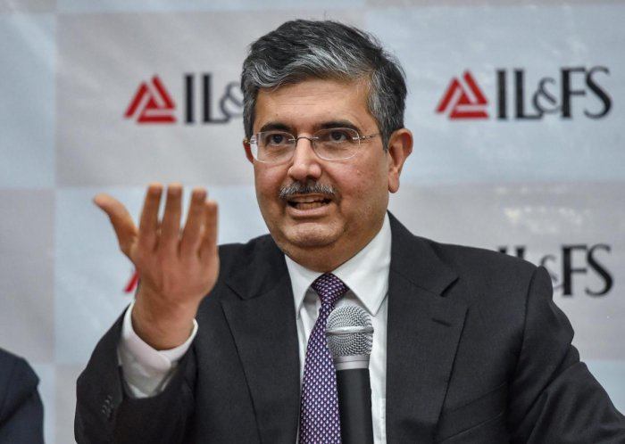 Uday Kotak, newly appointed non-executive chairman of IL&FS. (PTI file photo)