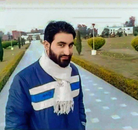 Hizbul Mujahideen commander Manan Bashir Wani. (PTI file photo)