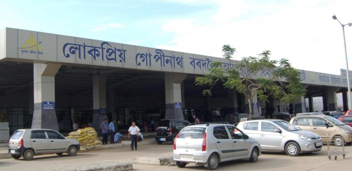 The Lokapriya Gopinath International Airport at Borjhar, Guwahati. (Photo by Manash Das)